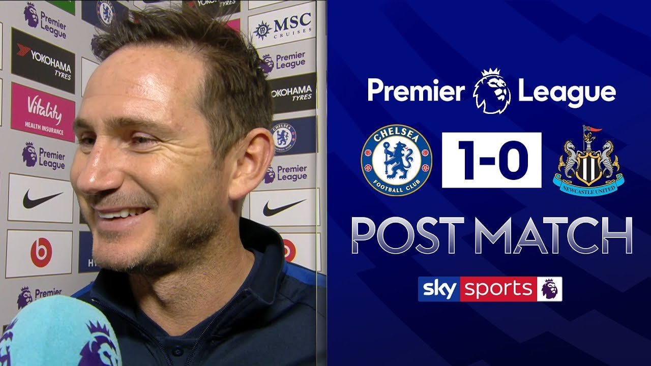 Download Frank Lampard delighted to win 'tough' match | Chelsea 1-0 Newcastle | Post Match Interview