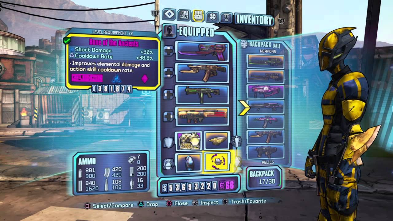 Borderlands  Assassin Build Lvl