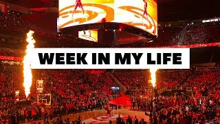 Week in My Life    Life Updates, The Groove ATL, NBA   Vlog #120