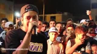 Jota, Chemex, Zeuz (Trujillo) vs Carlitos, Jinete, Nano (Lima)  | Batallas De Freestyle 2016