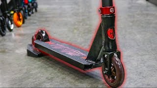 BLACK WIDOW CUSTOM KICK SCOOTER! CUSTOM SCOOTER