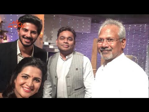 A.R/Dulquer Salmaan/ Mani Ratnam With DD @ Koffee with DD