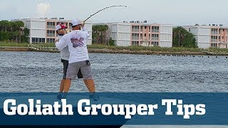 How to Catch Florida's Largest Grouper - Florida Sport Fishing TV