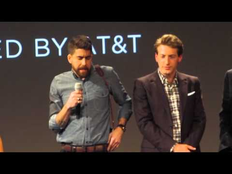 Adam Goldberg & Fran Kranz & cast/crew of Rebirth - Tribeca Film Festival 4/17/16