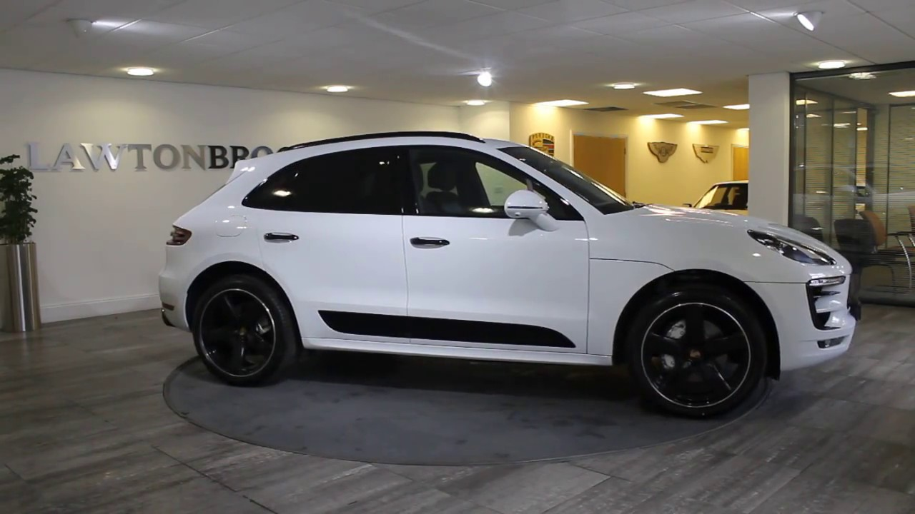 Porsche Macan White With Black My17 Lawton Brook Youtube