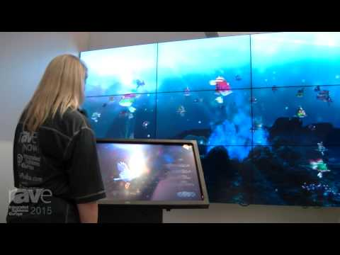 ISE 2015: rAVe Radio Checks Out Customized Lego Fish At the NEC Stand
