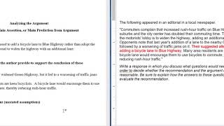 GRE Argument Essay Stepbystep Guide and Example