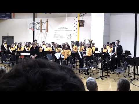 Theisen Middle School Band Concert (May 16, 2013)