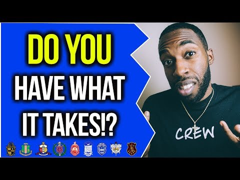 DO YOU HAVE WHAT IT TAKES TO BE GREEK!? | NPHC ADVICE | COREY JONES