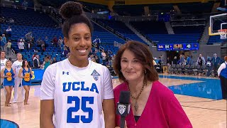 UCLA's Monique Billings on big contributions from bench: 'Everyone came to eat tonight'