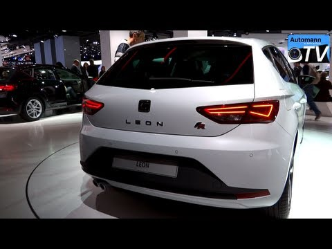 2013 Seat Leon FR 2.0 TDi (184hp) - In Detail (1080p FULL HD)