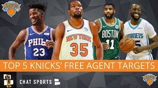 Knicks Rumors: Top 5 Players The New York Knicks Should Target In 2019 NBA Free Agency