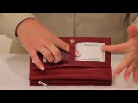 Pilot Supplies - Identity Stronghold Wallet Ladies Clutch Overview
