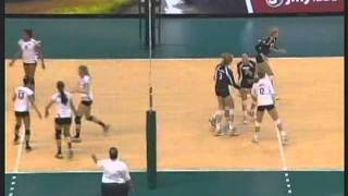 Rainbow Wahine Volleyball 2011 -  Rematch: #11 Hawai'i Vs Pepperdine (Part 1 of 4)