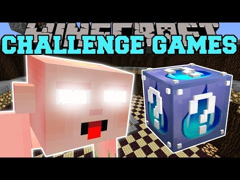 Minecraft: BIG BABY CHALLENGE GAMES - Lucky Block Mod - Modd