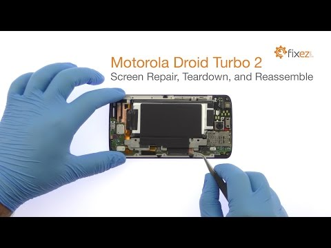 Motorola Droid Turbo 2 Screen Repair, Teardown and Reassemble - Fixez.com