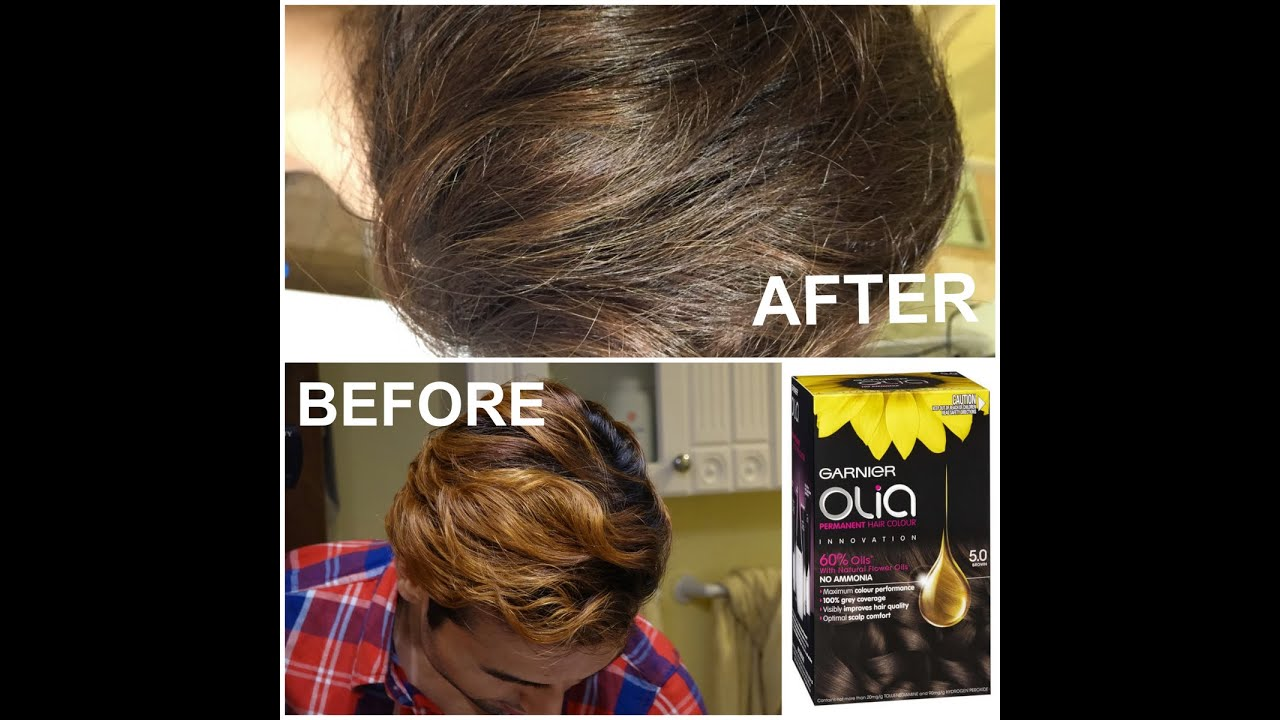 Hair Brown color innovation new photo