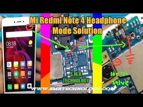Mi Redmi Note 4 Headphone Symbol Solution S.M.R. TECHNOLOGY 100% Problem Solve