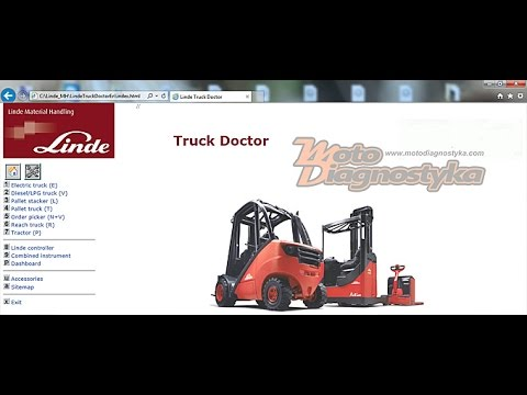Linde Truck Doctor - Diagnostic Software For Linde MH Doctor 2.00.018