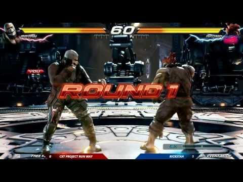 SoCal Regionals 2016: Tekken 7 FR - CKT Project Run Way vs. Rickstah