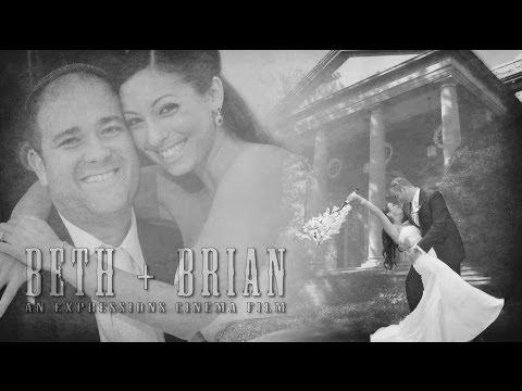 Beth And Brian | Wedding At Temple Beth El In Cedarhurst, New York | Expressions Cinema