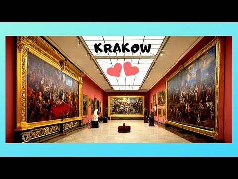 KRAKOW'S magnificent ART MUSEUM 🖼️ in Main Market Square, let's view the paintings!