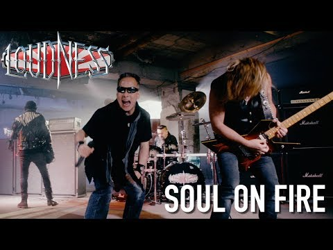 "LOUDNESS ""Soul on Fire"" Official Music Video - New Album ""Rise To Glory"" OUT NOW"