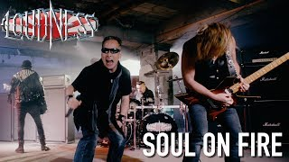 "LOUDNESS PREMIERE OFFICIAL MUSIC VIDEO FOR ""SOUL ON FIRE"" TODAY. AL..."