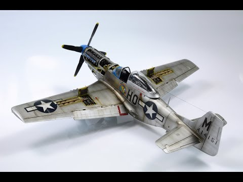 P-51d Mustang Tamiya 1:48 Perie 2nd - Step by Step