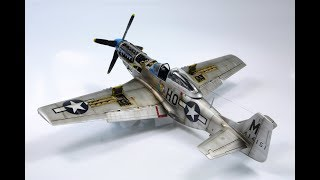 P-51d Mustang Tamiya 1:48 Perie 2nd - ww2 aircraft model