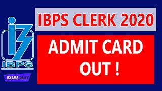 How to Download IBPS Clerk Admit Card 2020 || IBPS Clerk Admit Card || Prelims Exam Date 2020