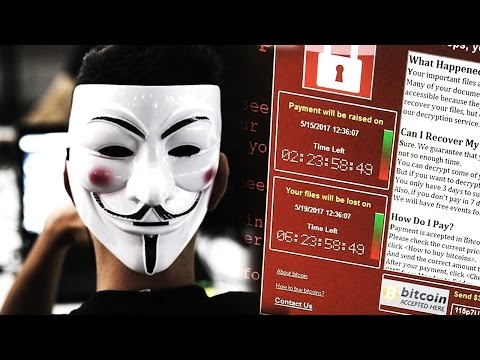 Anonymous - Here's what you need to know... (WannaCry Ransomware)