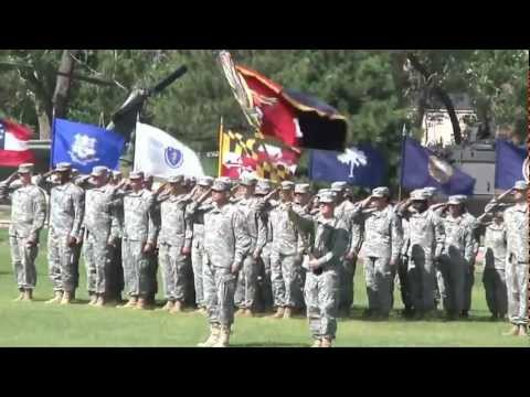 4th Infantry Division Pass and Review