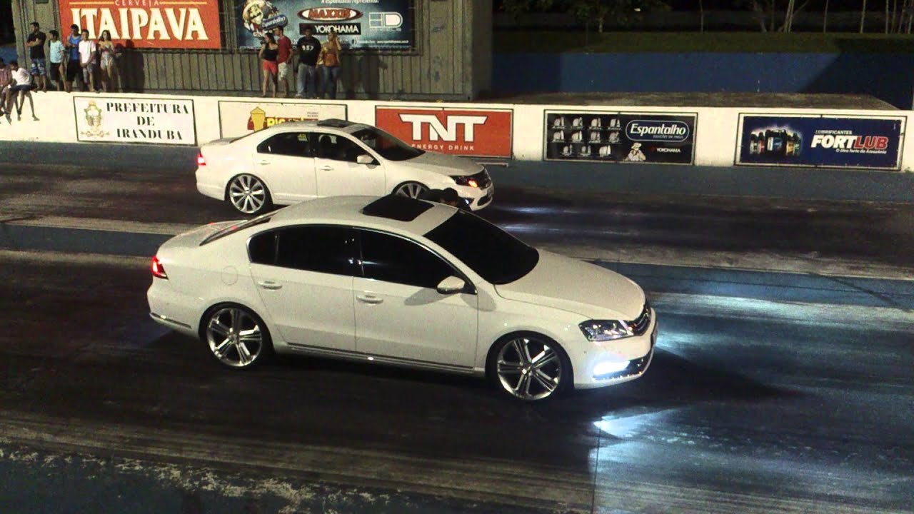 Passat Tsi Vs Fusion V6 Youtube