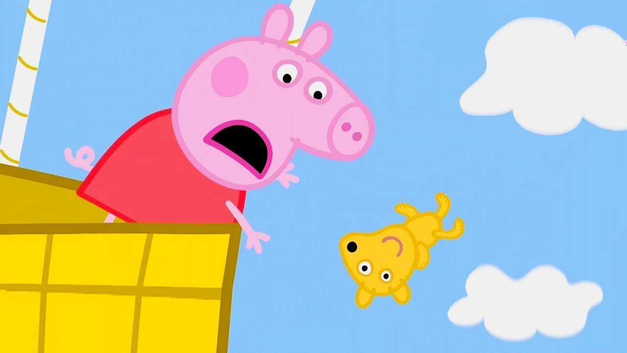 Peppa pig en espa ol episodios completos paseo en globo - Peppa cochon a la plage ...