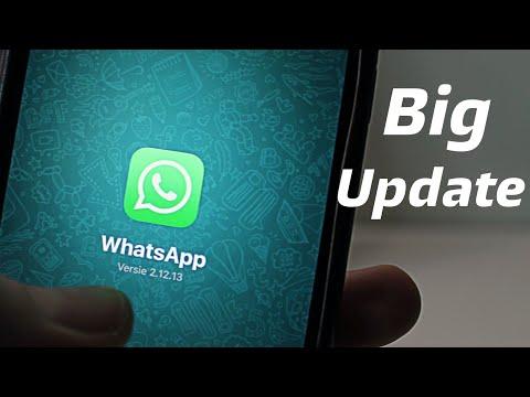 Whatsapp new big update..