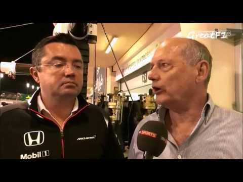 Post-qualifying reactions from McLaren. Bahrain GP 2016