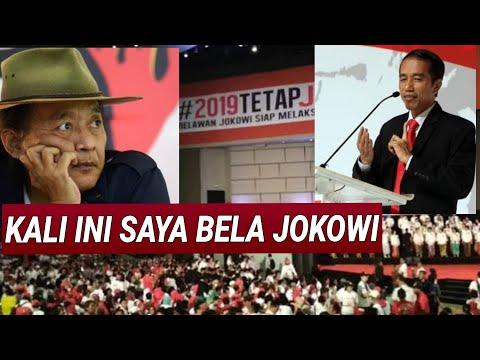 """PIDATO JOKOWI DITANGGAPI SUJIWO TEJO;""""tapi siap berkelahi"""" trending topic twitter.Relawan Jokowi sen"""