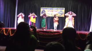 Guruvayurappan temple Dallas kids dance
