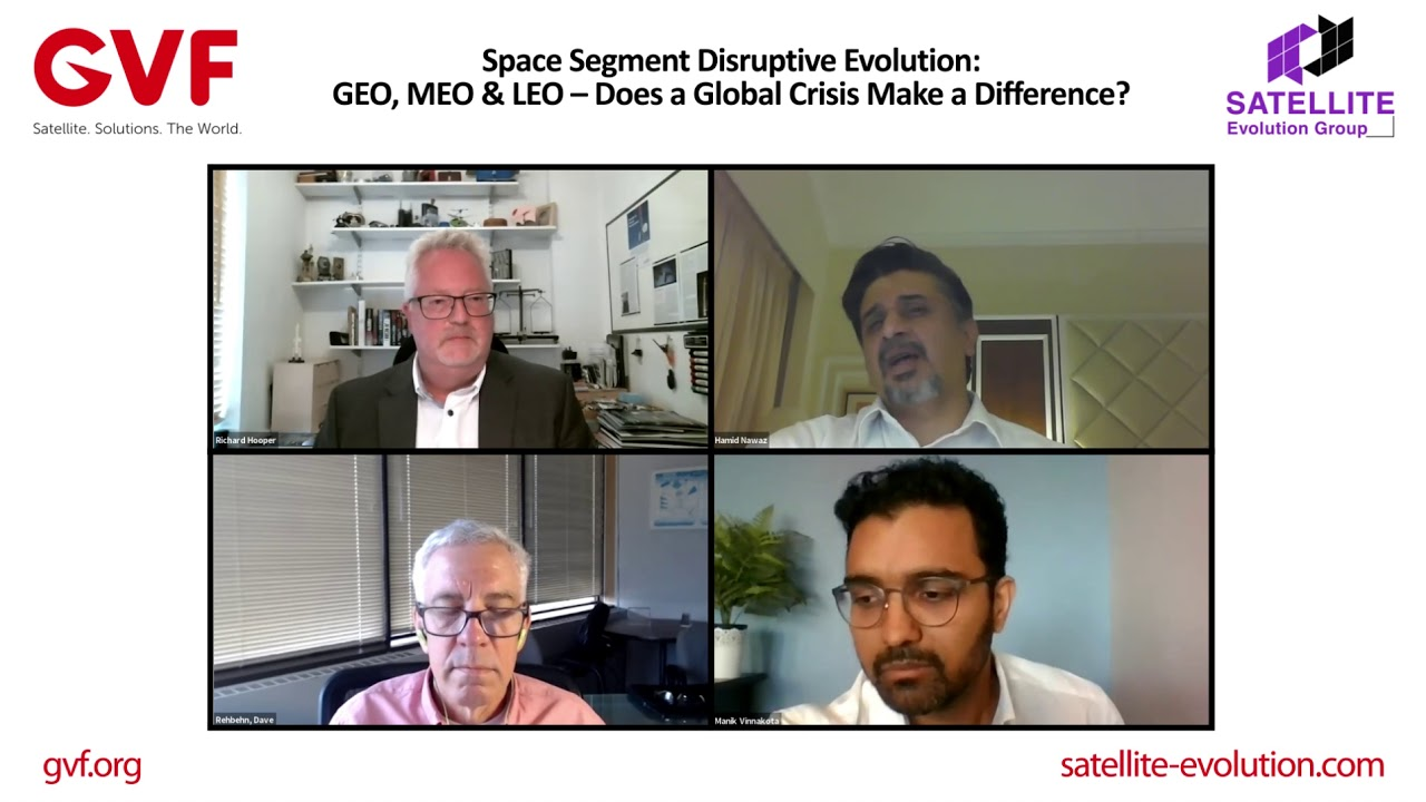 Space Segment Disruptive Evolution: GEO, MEO & LEO Does a Global Crisis Make a Difference?