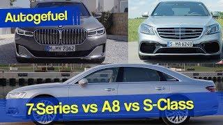 Best Luxury sedan? BMW 7-Series G12 vs Audi A8L vs Mercedes S-Class V222