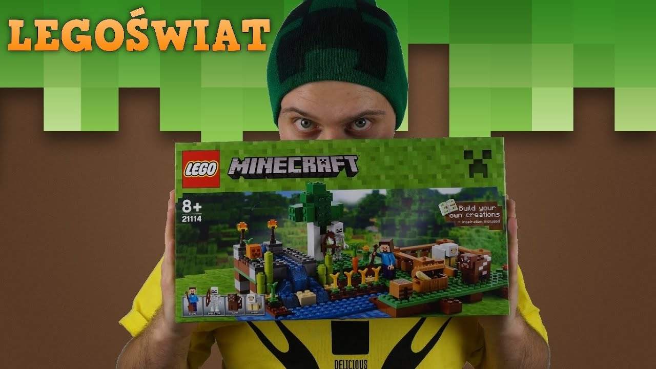 Lego Minecraft Farma 21114 Legoświat Youtube