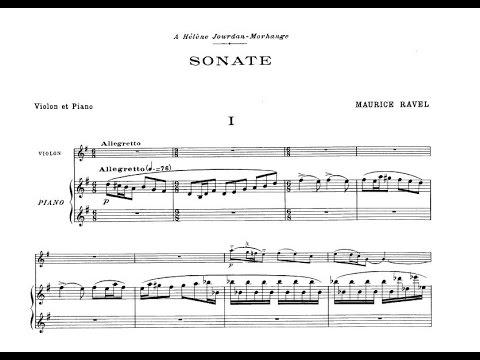 Maurice Ravel - Violin Sonata No.2, M.77