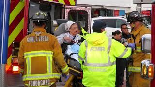 Elderly Woman Causes Havoc Through Chula Vista City Streets 11/28/2017