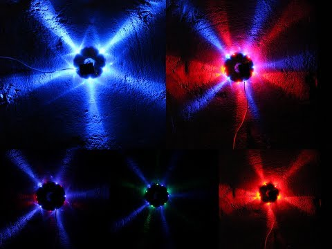 How to make a Running Light at home (Diwali Decoration )