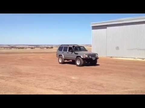 1uz v8 xj cherokee no exhaust