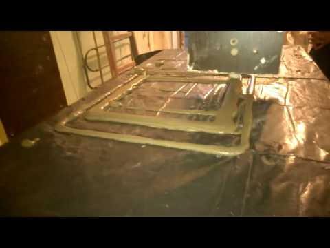 Pre test Concrete printer UA