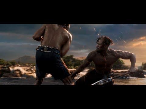 Black Panther - T'Challa vs Killmonger First Fight [HD]