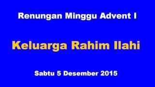Renungan Minggu Advent I