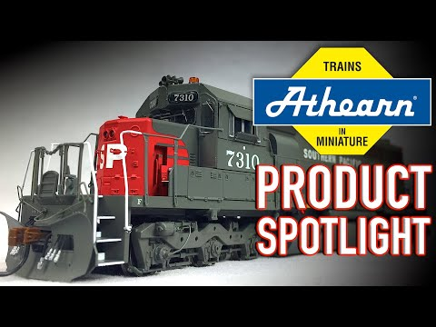 HO Scale Southern Pacific SD40 RTR HO Scale Athearn Product Spotlight